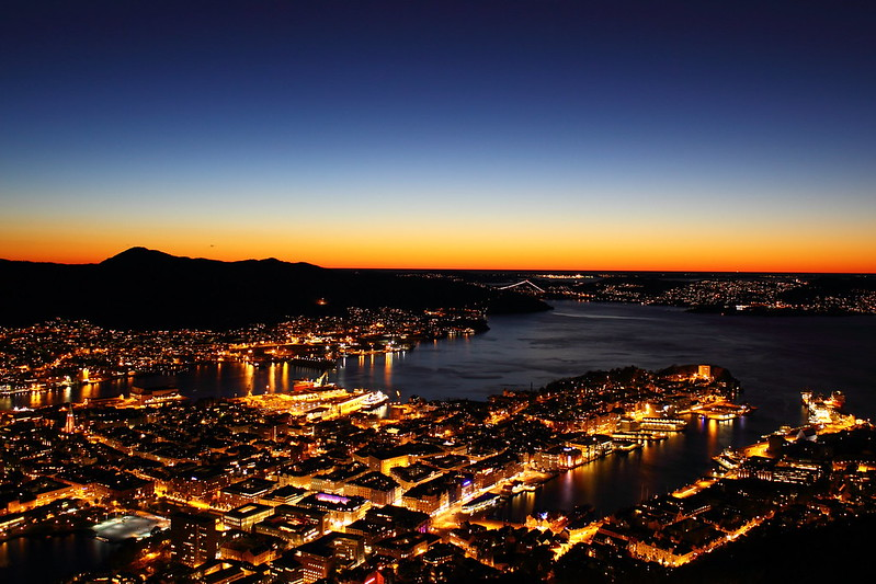 Good night, Bergen!