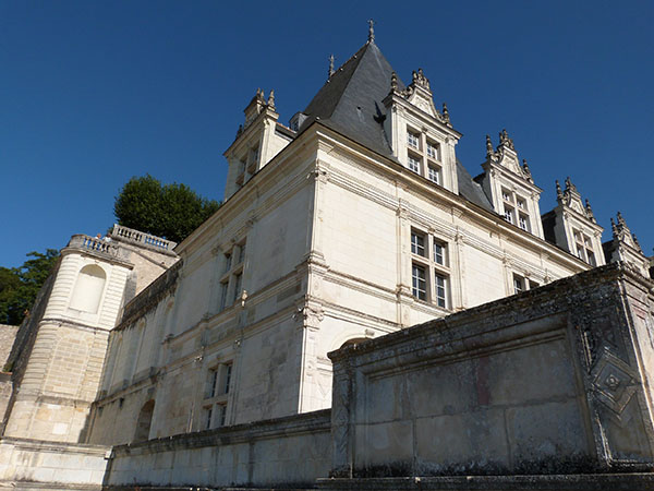 vue chateau villandry