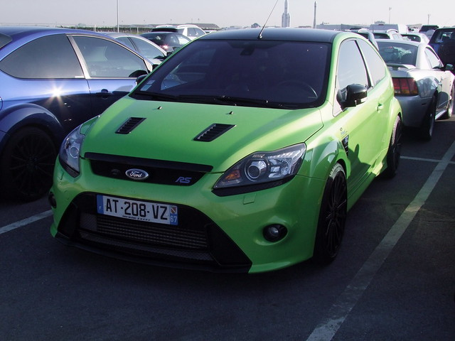 Ford Focus RS Mk2 sportive 2009-11