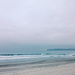 It seems like a good day to go back to bed. #overcast #monday #ocean #view #pointloma #coronado #sleepy #cozy #california