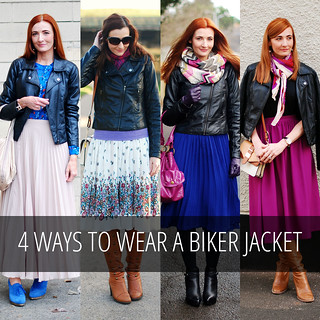 8 Ways to Wear a Biker Jacket (With Skirts)