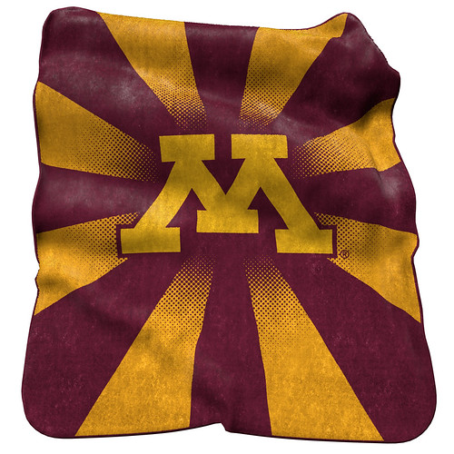 Minnesota Golden Gophers NCAA Raschel Blanket
