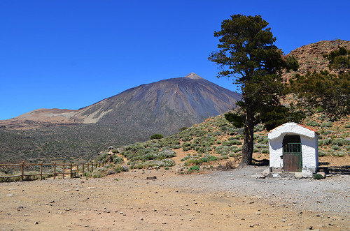Mount Teide and Ermita, La Fortaleza, Teide National Park, Tenerife