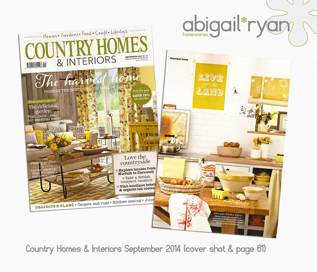 Country Homes & Interiors Magazine - Press (cover shot) Sept 2014