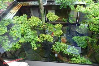 P1060348 Jardin desde la ventana de la habitacion del Kashima Honkan  (Fukuoka) 12-07-2010 copia