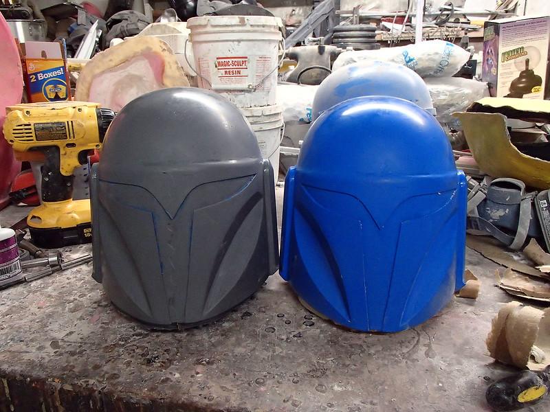 Nite Owl Helmet 1st Cast