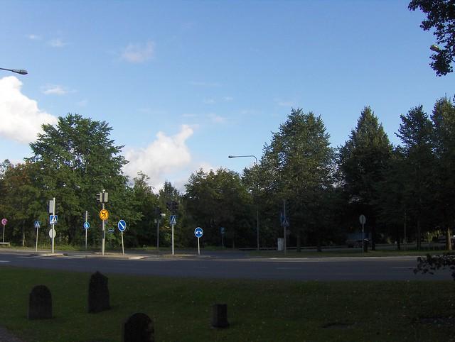 Hämeenlinnan moottoritiekate ja Goodman-kauppakeskus: Työmaan lähtötilanne 3.9.2011 - kuva 13