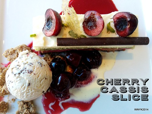 Cherry Cassis Slice