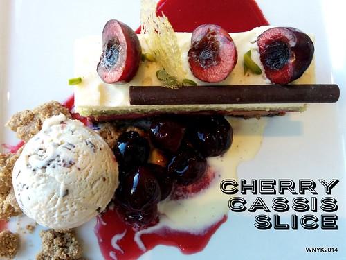 Cherry Cassis Slice