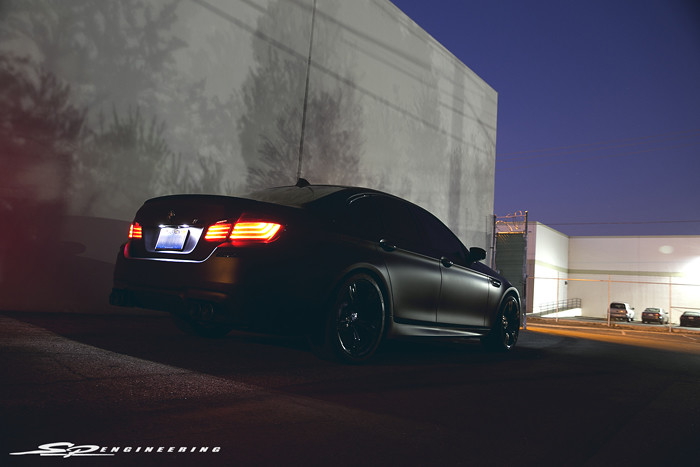 Murdered Out M5 Receives an SPE700 Package