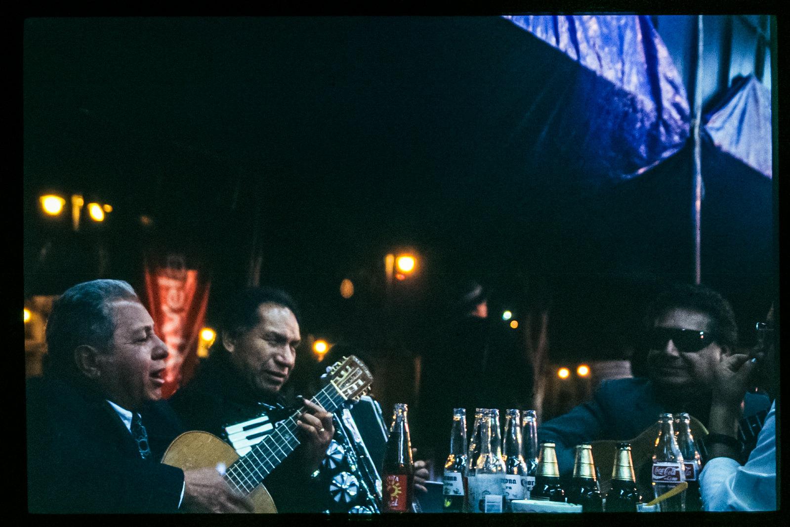 Fête des morts à Mexico - Les mariachis