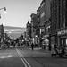 Pedestrian plaza, Newark ave
