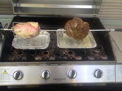 kitchen appliance, outdoor grill, meat, food, cuisine, cooking,