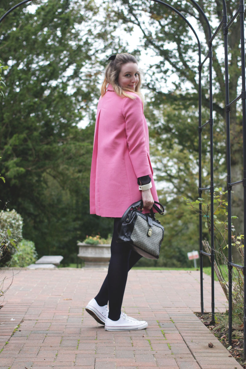 Pink Zara Coat, Bumpkin Betty Fashion Blog