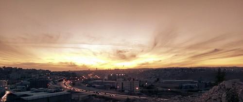 city sunset sky sun amman