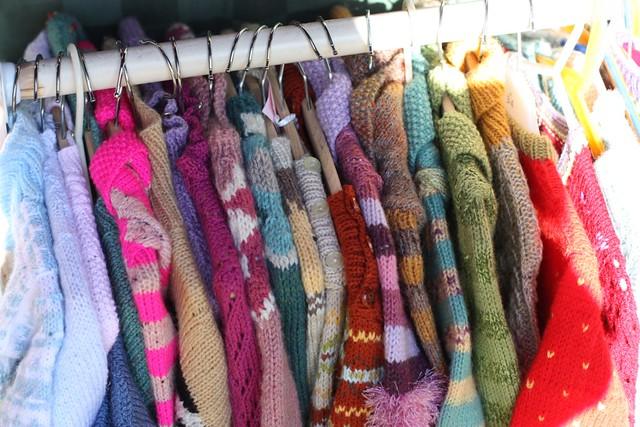 Julia Radbourne knits