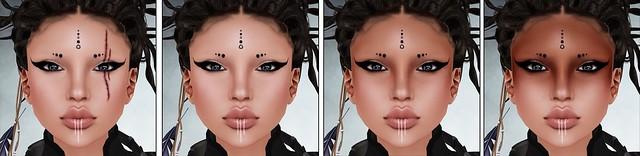 Lumae - Star - Apoc - Included Faces