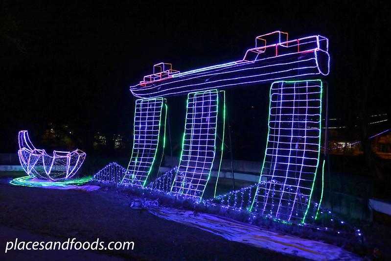 hatyai park lantern festival marina bay sands
