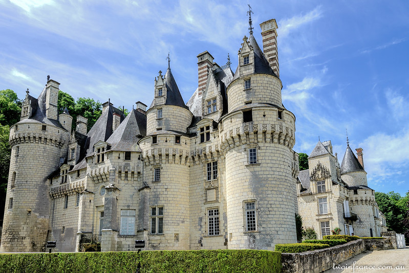 The Castle of Sleeping Beauty - Château d'Ussé