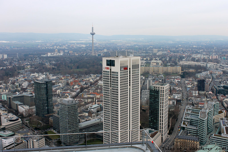 FRANKFURT AM MAIN - Main Tower - Europaturm / Opernturm