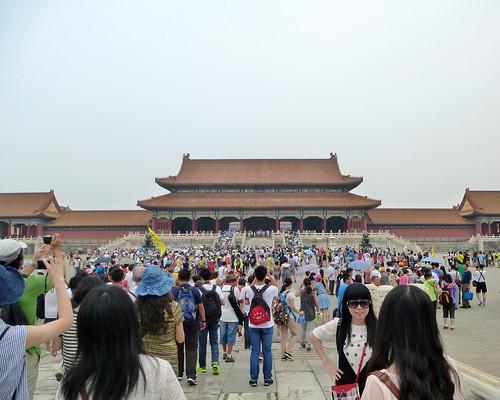 Beijing-Cité Interdite-Porte de l'Harmonie Suprême (3)
