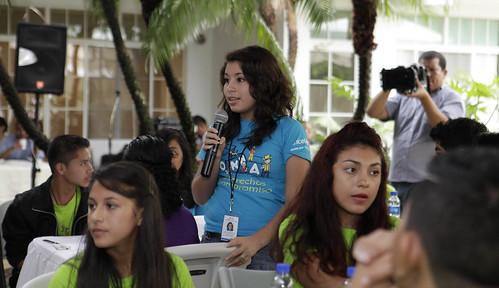 Casa Abierta Desayuno con Jóvenes de Consejo Consultivo