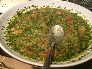 Salsa Verde : Stir well