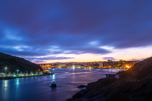 lighting city longexposure canada reflection fall skyline night port newfoundland landscape evening twilight nikon scenery downtown cityscape waterfront cloudy harbour dusk wide stjohns bluehour narrow nfld nightfall atlanticcanada d600 stjohnsharbour newfoundlandandlabrador downtownstjohns nikond600