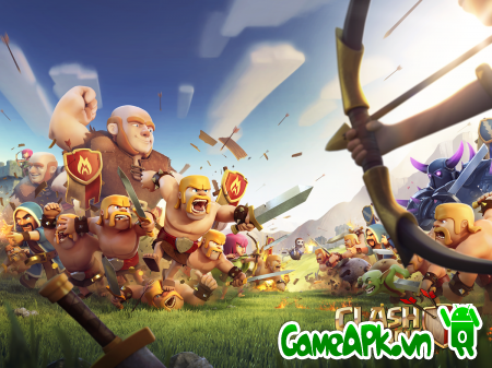 Hướng dẫn hack Clash of Clans v8.67.8 cho Android