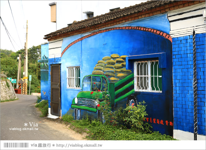 【關廟彩繪村】新光里彩繪村~在北寮老街裡散步‧遇見全台最藝術風味的彩繪村60