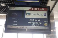 CX746 in Bahrain