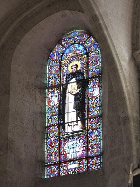 vitrail saint dominique ingres