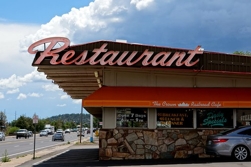 Crown Railroad Cafe (Howard Johnson's), Route 66, Flagstaff, Arizona