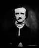 Digital Charcoal Drawing of Edgar Allan Poe by Charles W. Bailey, Jr.