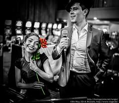 Alejandro Berón y Verónica Vázquez, Viage Grand Casino Brussels, May 2014