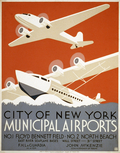 City of New York municipal airports, 1936