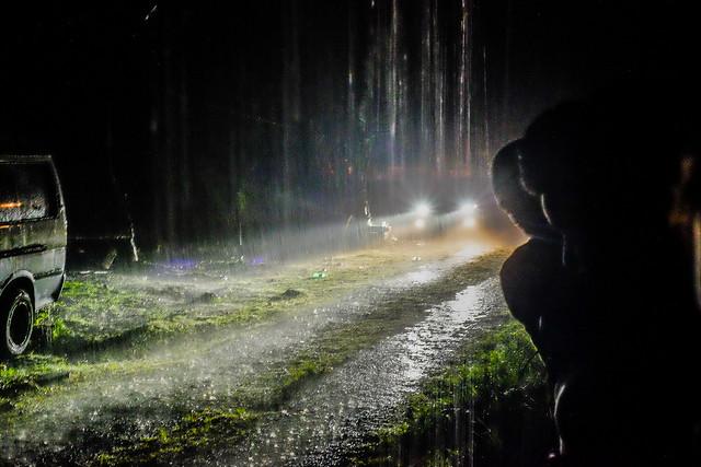 Rainy night in Dominica