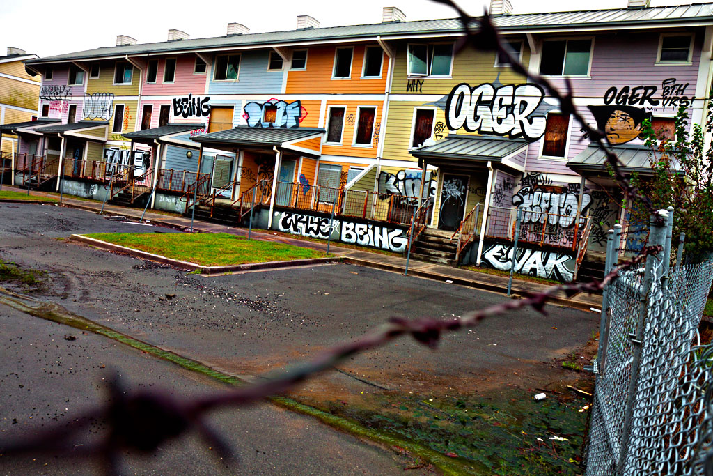 Public-housing-ruined-by-Katrina--New-Orleans-8