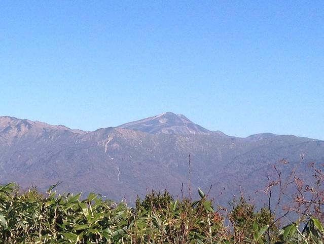大日ヶ岳山頂からの眺望 白山