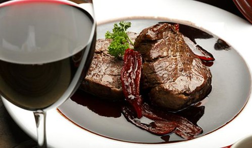 酒煎牛排 Steak with Red Wine Sauce