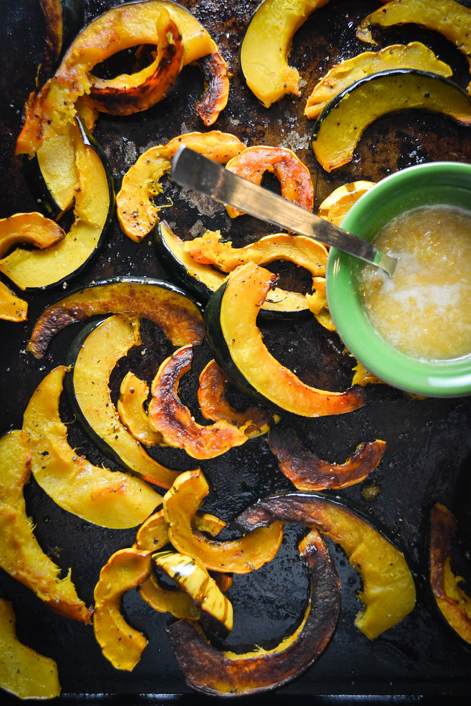 Roasted Squash with Maple Ginger Glaze | Things I Made Today