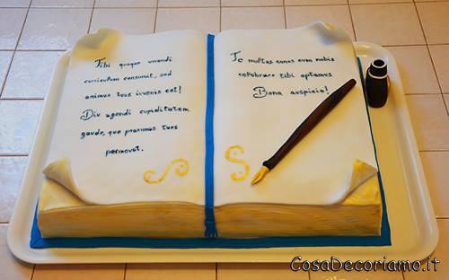 Torte - 26 - Torta libro