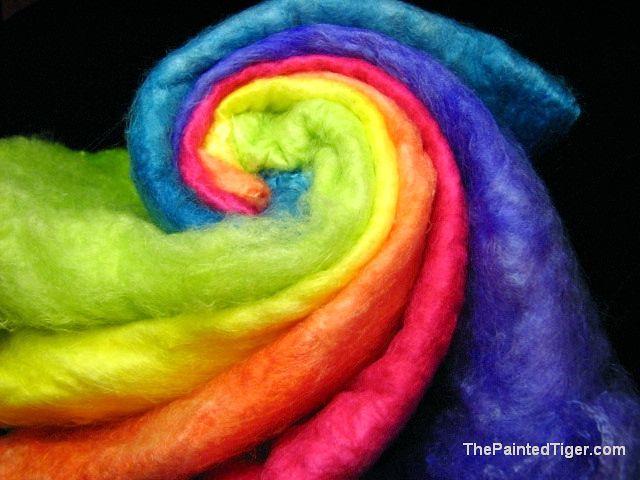 Tropical Rainbow - Silk Hankies