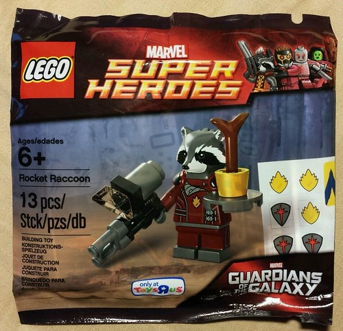 LEGO Marvel Super Heroes Rocket Raccoon Minifigure