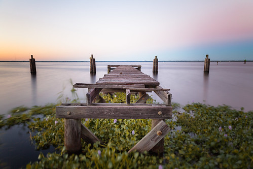 old longexposure sunset usa lake color canon photography pier florida rotten sanford lakemonroe 2470mm niksoftware lightroom5
