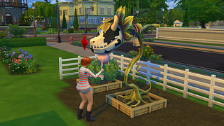 cowplant the sims 4 9