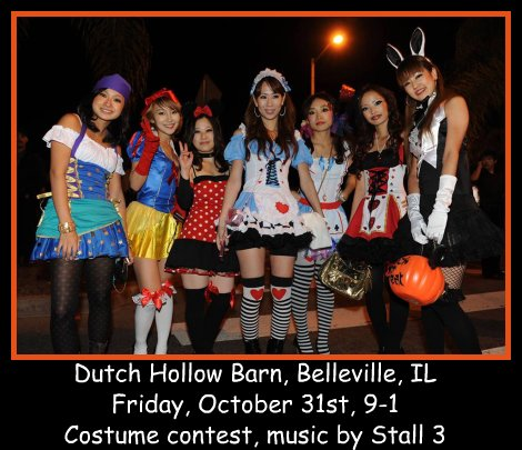 Stall 3 Halloween