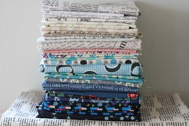 Possible fabrics for my GPF partner