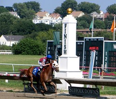 Suffolk Downs, August 21, 2013