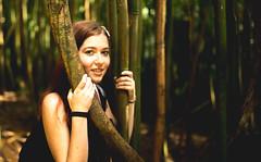 Amongst the Bamboo at Manoa